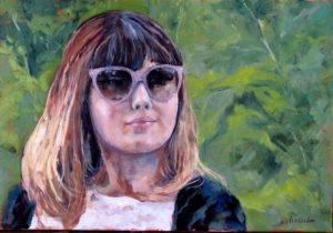 Ada - girl with sunglasses