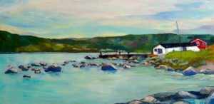 Newfoundland fishing shed
