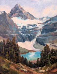 Mt. Assiniboine, Alberta Landscape Painting