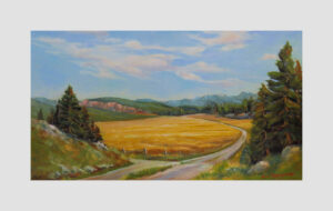 Country Roads - fine art oil painting